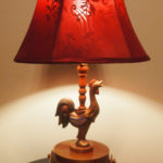 Gaudy Chicken Lamp – From Old to New