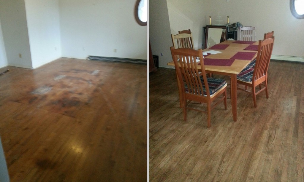 Dining Room Do Over How To Remove Urine Stains From Hardwood