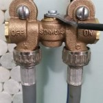 Fixing SYMMONS Shut Off Valve Leak